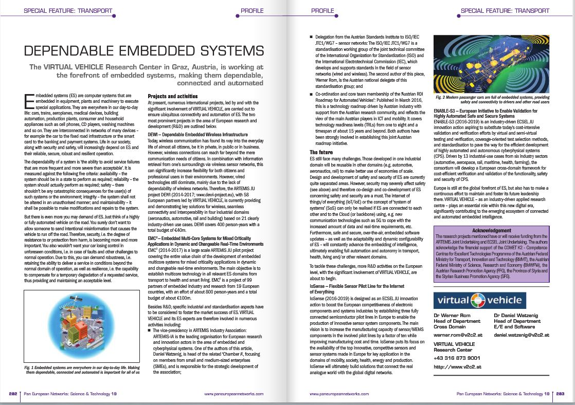 dewi in the latest science and technology issue of pan