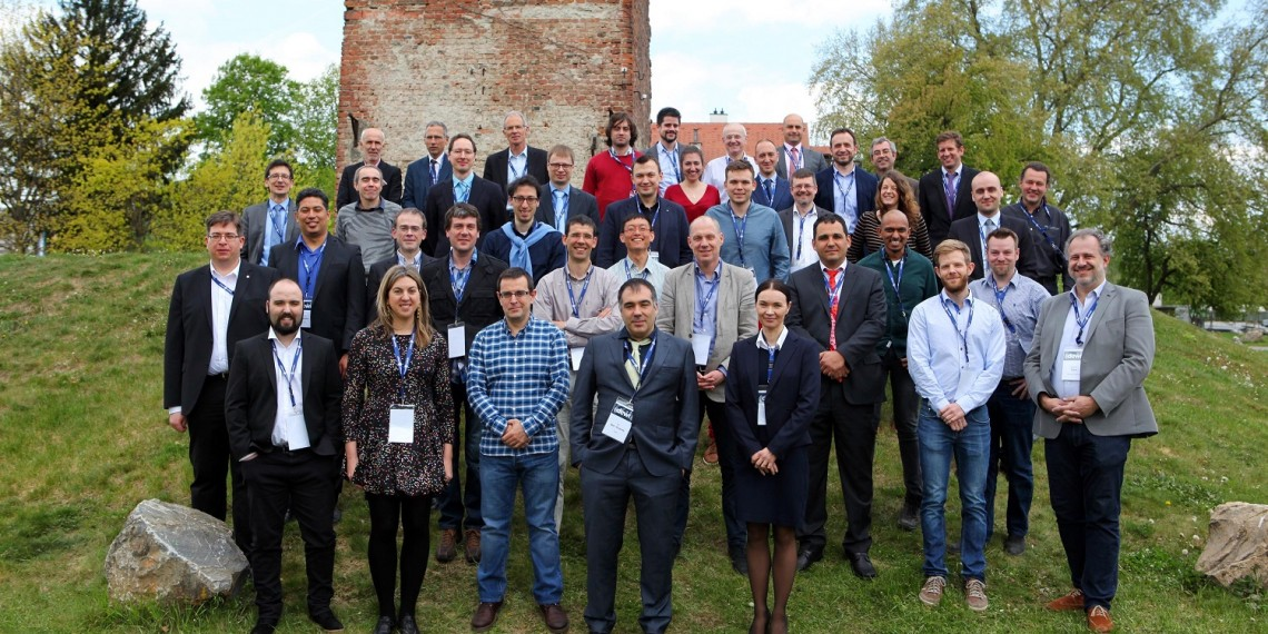 """DEWI Final Week at """"Seifenfabrik"""" Graz - Austria, April 24-28, 2017  -  DEWI Research partners from 11 nations gathered together in Graz for a final exchange of ideas and project results. The 40 Mio. Euro EU project focussed on """"Dependable Embedded Wireless Infrastructure"""", within four industrial domains (Aeronautics, Automotive, Rail, Building), adding clear interoperability and cross-domain benefits in the area of wireless sensor networks and wireless communication.  More information: www.dewiproject.eu"""